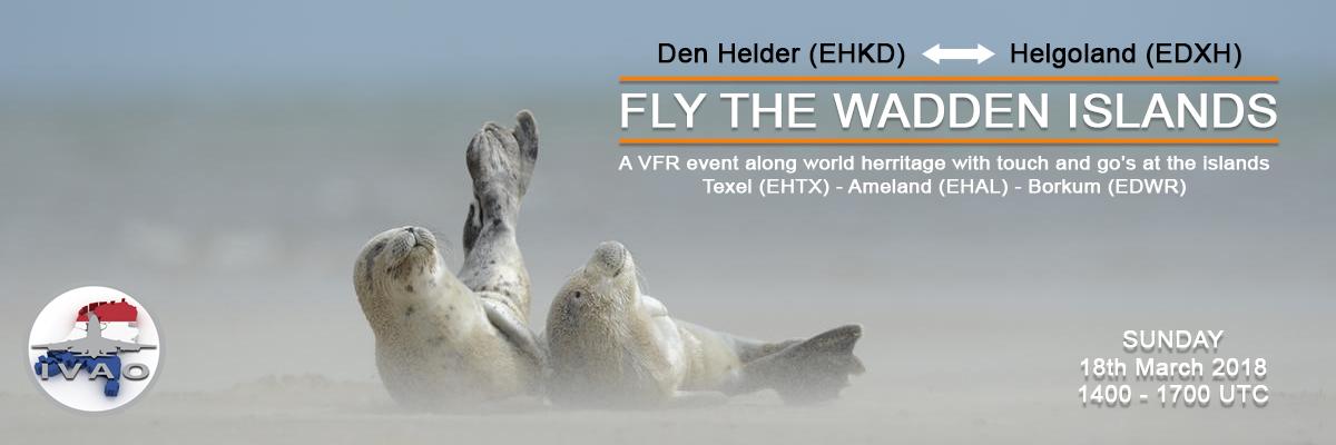 [NL] Fly the Wadden Sea VFR   14z - 19z